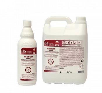 Płynny koncentrat do dezynfekcji powierzchni - również mających kontakt z żywnością, o działaniu bakteriobójczym, grzybobójczym i wirusobójczym